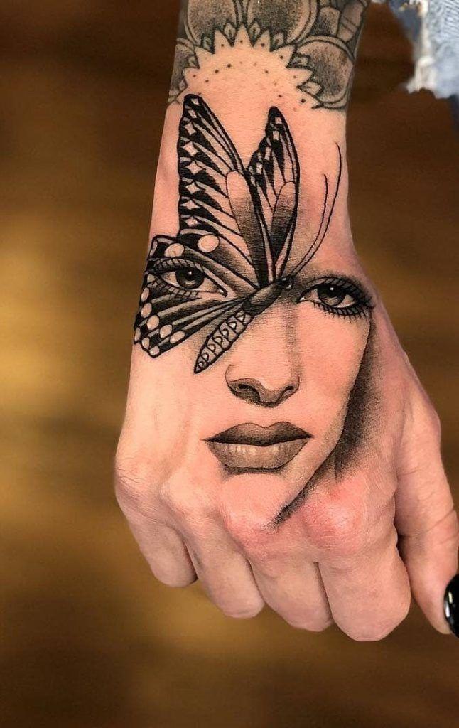 As 100 Melhores Tatuagens nas mãos da internet [Femininas e Masculinas] - Top Tatuagens