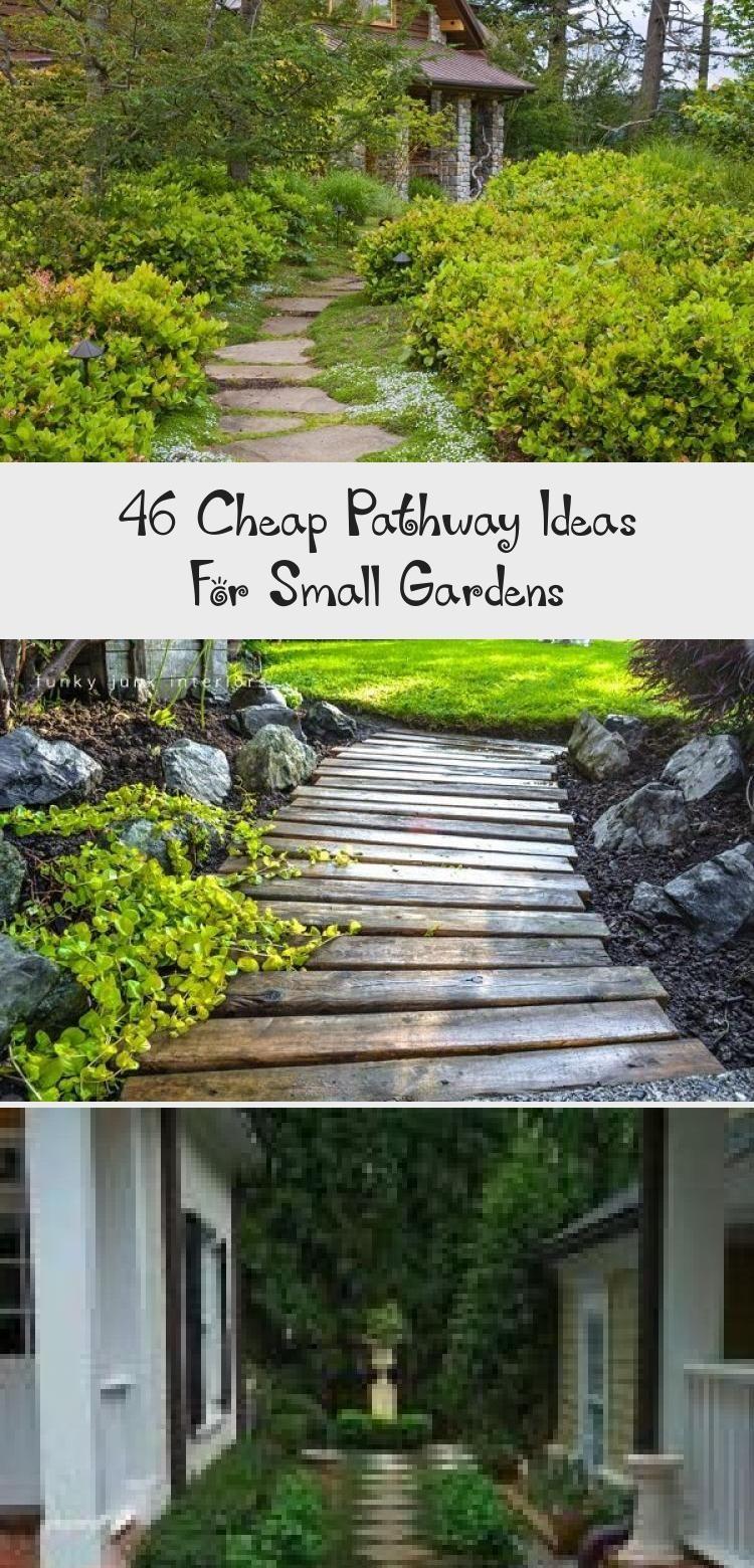 Photo of 46+ Easy & Cheap Garden Path Ideas For Your Beautiful Garden #Lavarockgarden #Co…