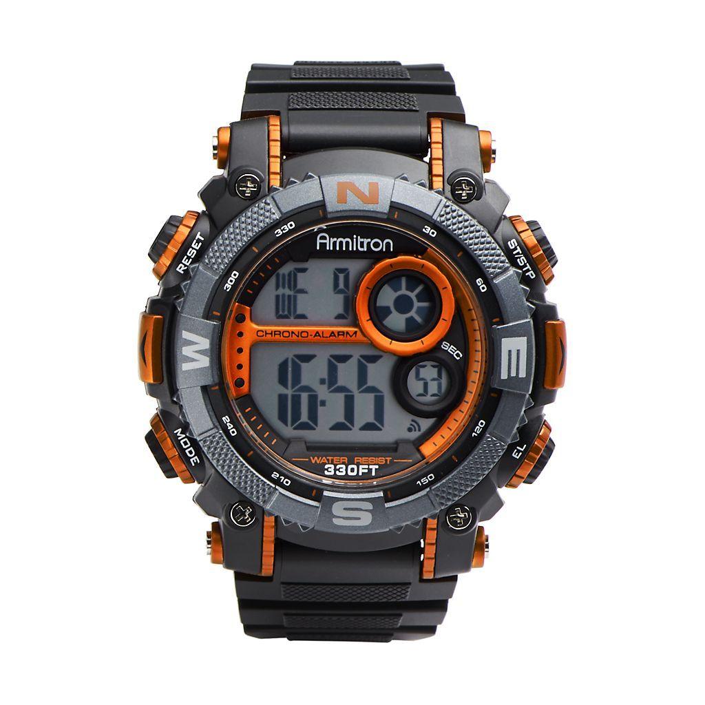 Armitron Men's Digital Chronograph Watch Kohls