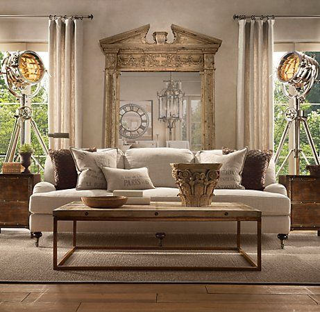 Chic on a Shoestring Decorating: Restoration Hardware\'s \
