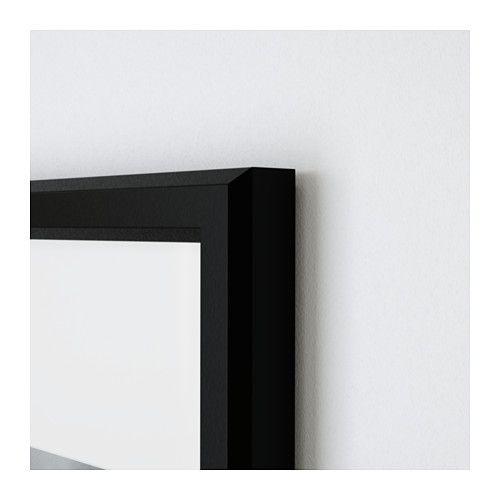 GUNNABO Rahmen, schwarz schwarz 61x91 cm