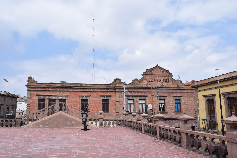 Terraza Del Mac Antes Edificio De Correos Con Vista Al