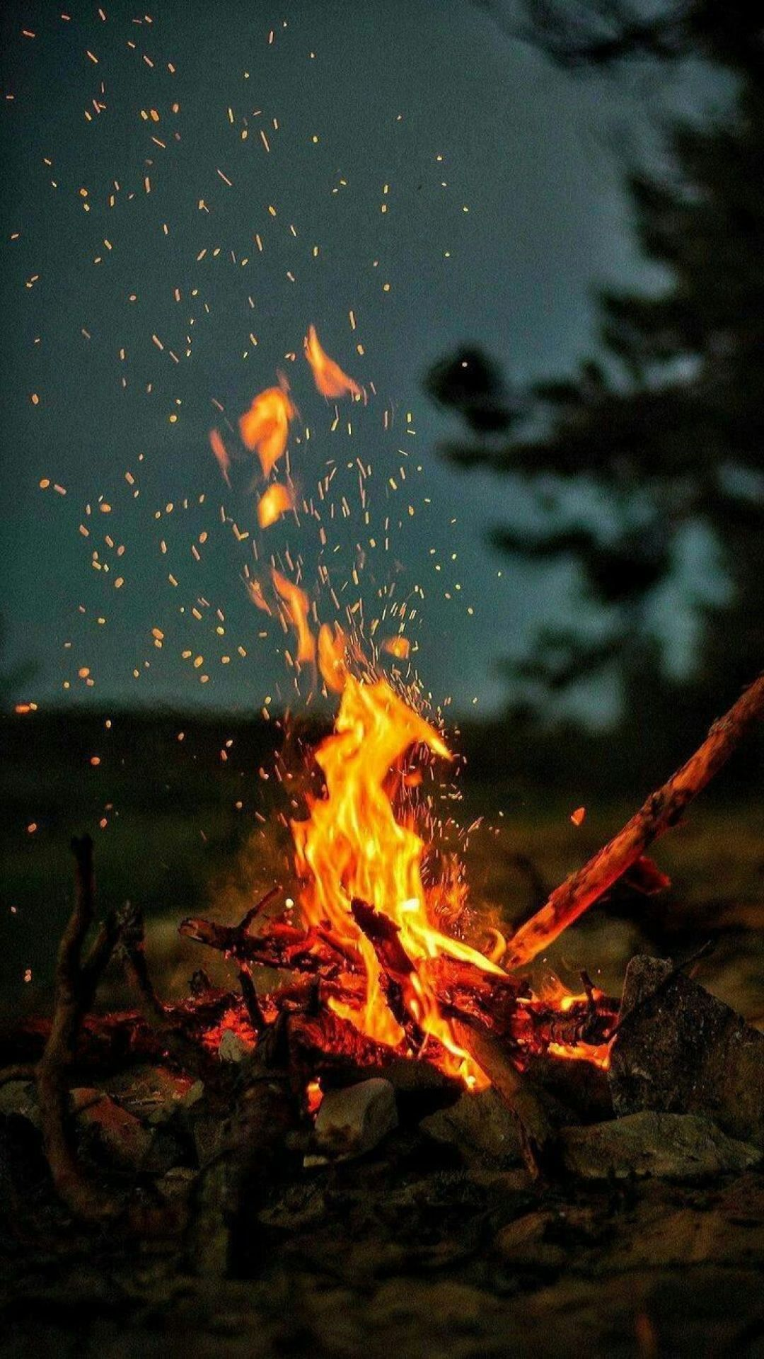 Fire Android Iphone Desktop Hd Backgrounds Wallpapers 1080p 4k 127476 Hdwallpapers Androidwal Camping Wallpaper Fire Photography Nature Wallpaper