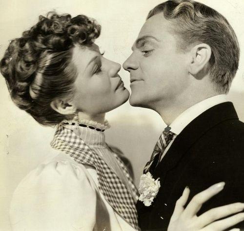 James Cagney & Rita Hayworth in Strawberry Blonde (1941)