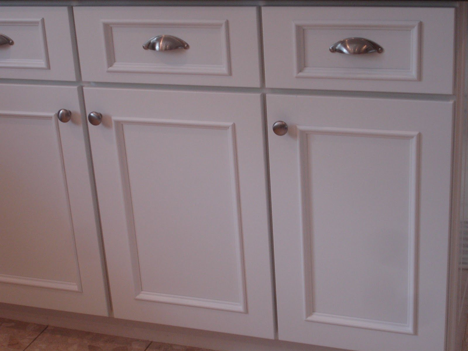 White Kitchen Cabinet doors | New cabinet doors and drawers ...