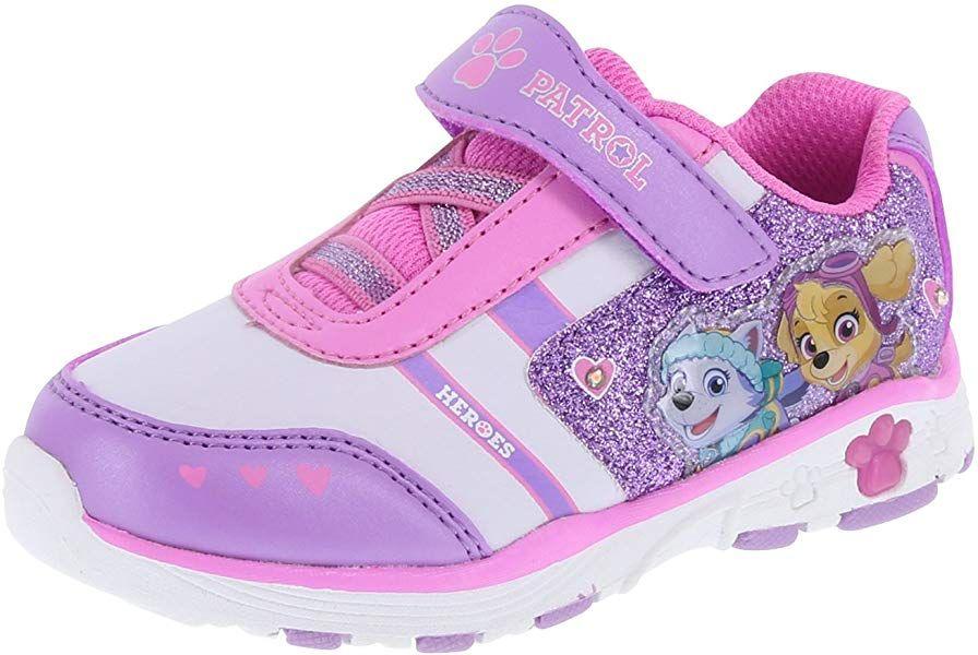 NEW Paw Patrol Nickelodeon Girls/' Toddler Lighted Runner