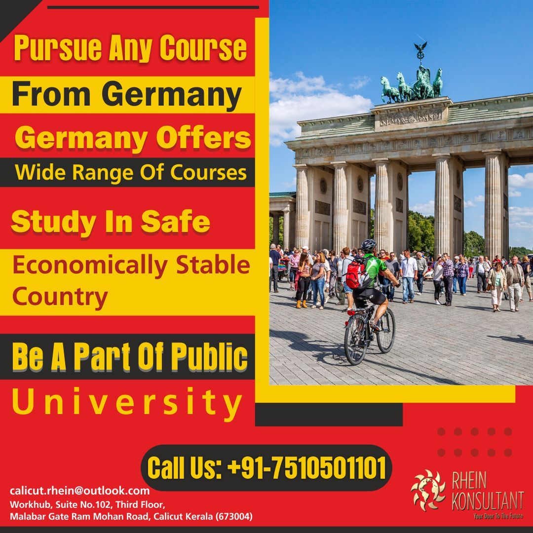 Study In Germany Pursue Any Course And Get A Degree For Free