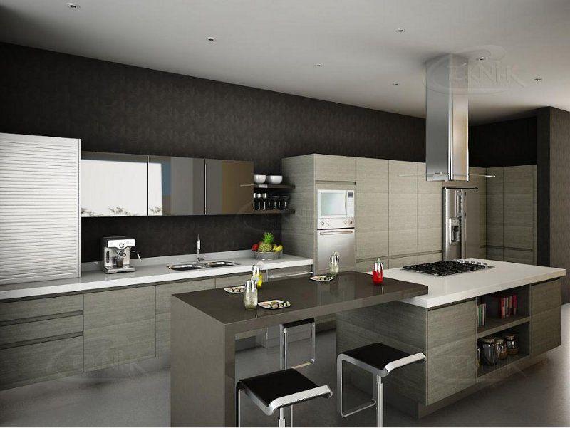 Muebles de cocina modernos si te gusta estar en la - Muebles tu casa ...