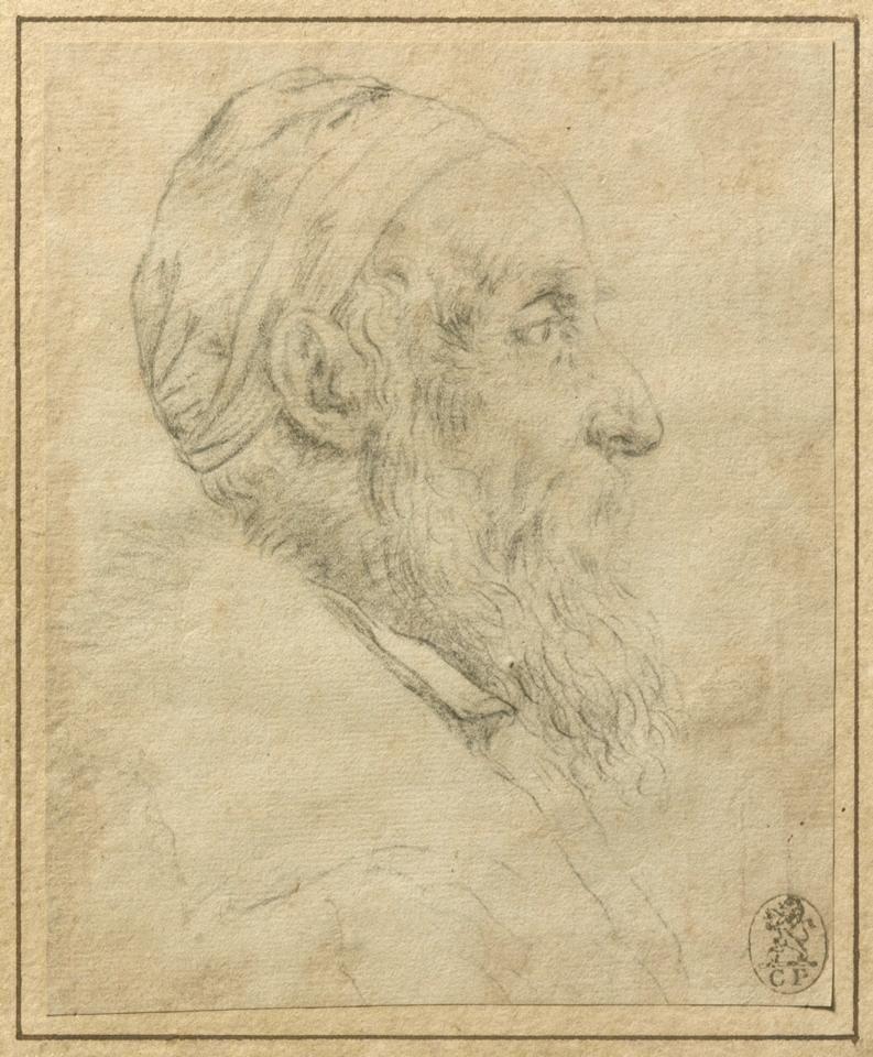 Tiziano Vicellio, c 1562, autoritratto.