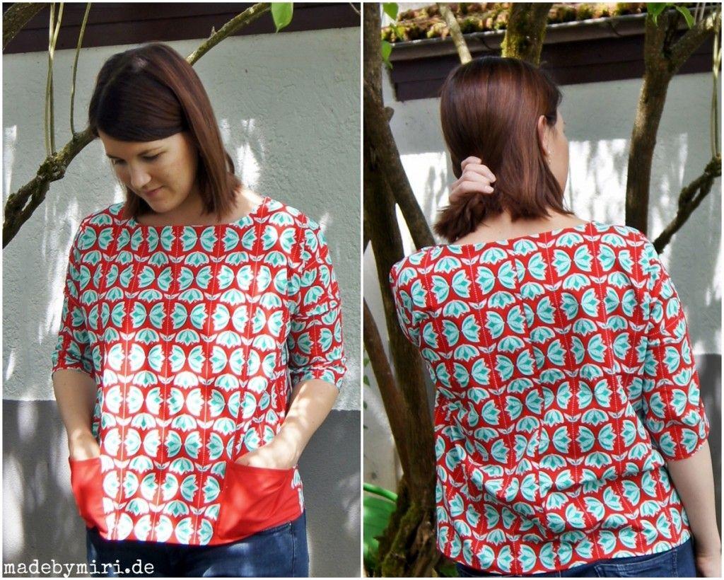 Tunic - Lightflowers mirror fabric