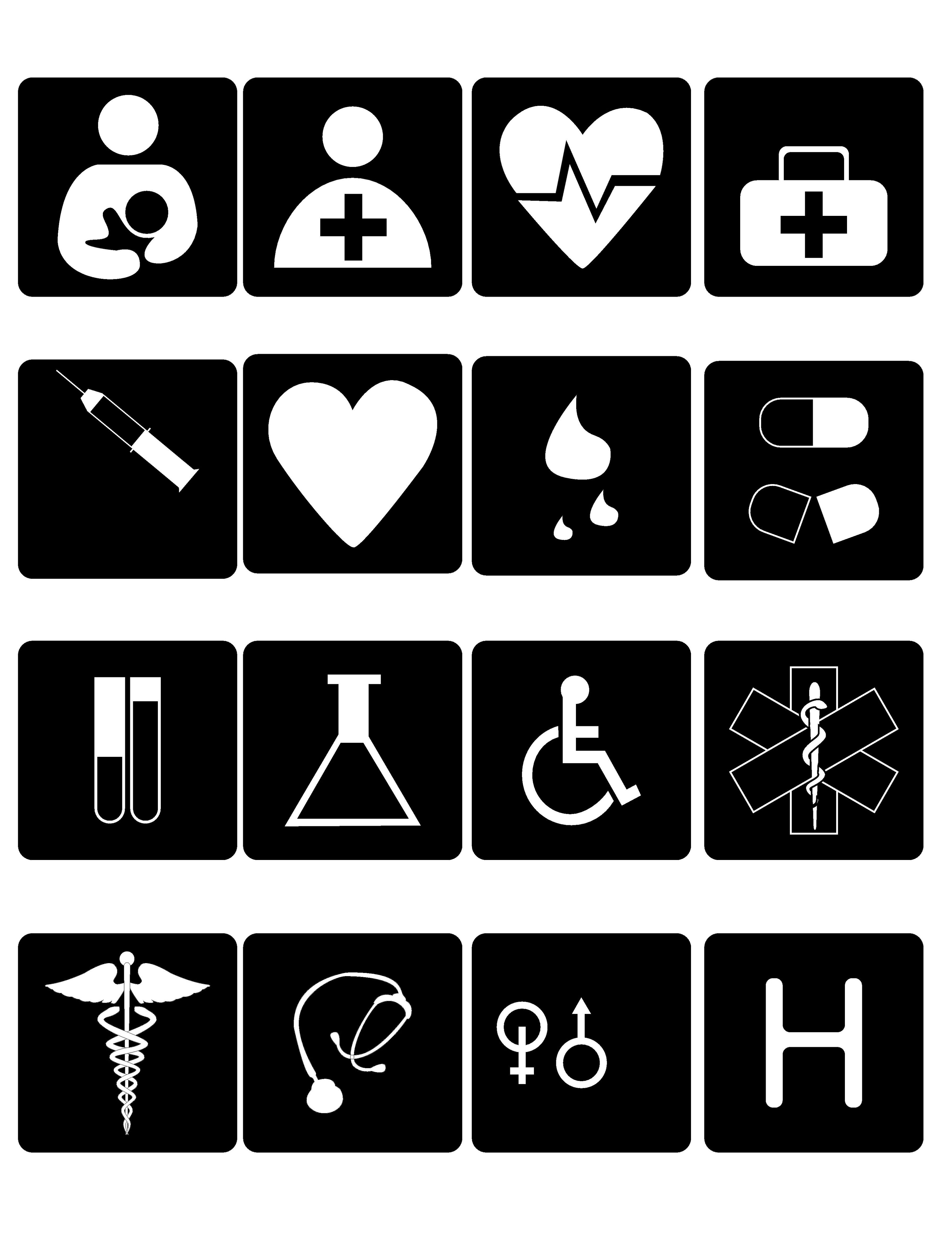Symbols For 1st Aid Compassion Feeling Listening And Sharing Day