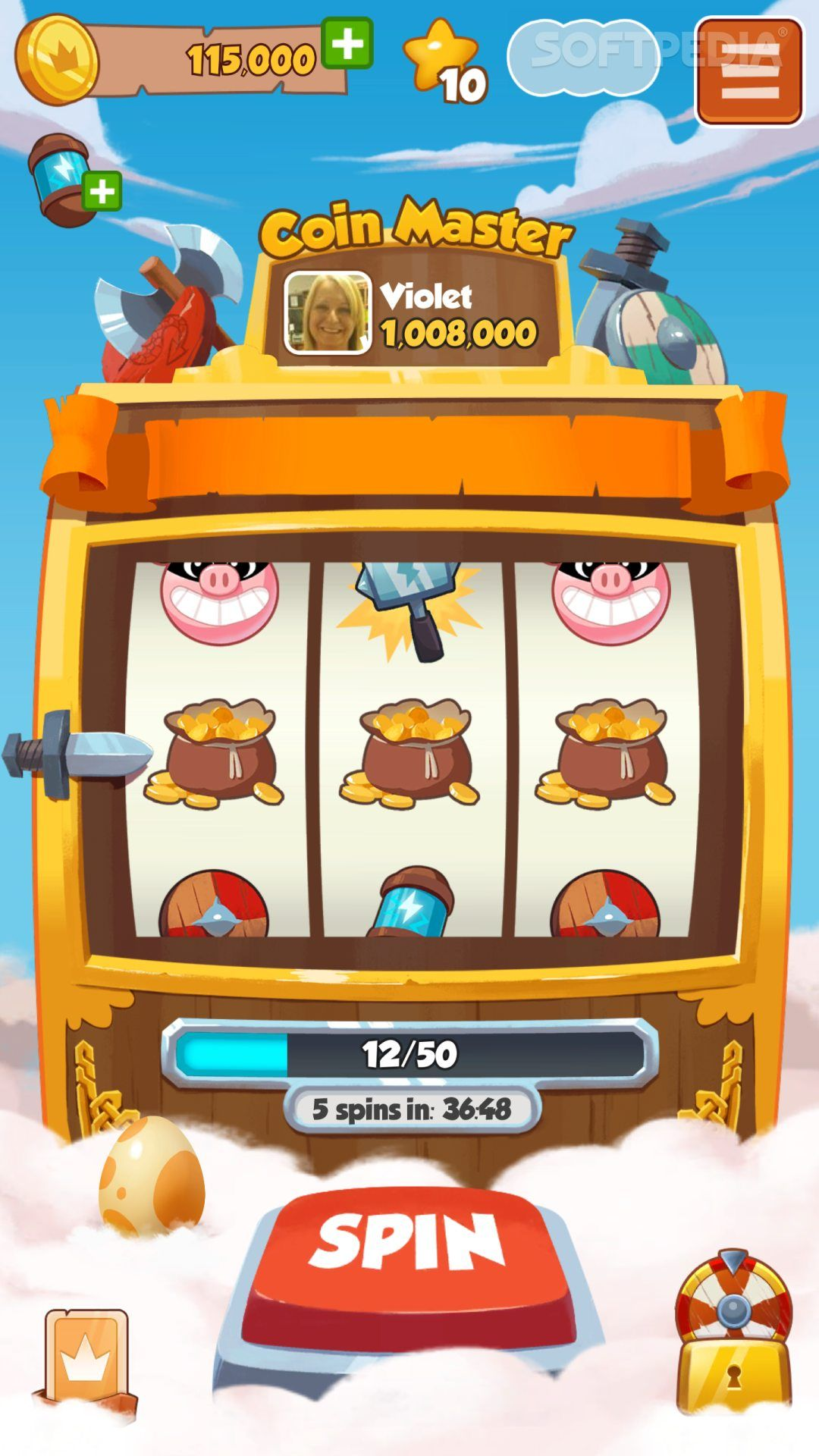 Coin Master online, free Spin