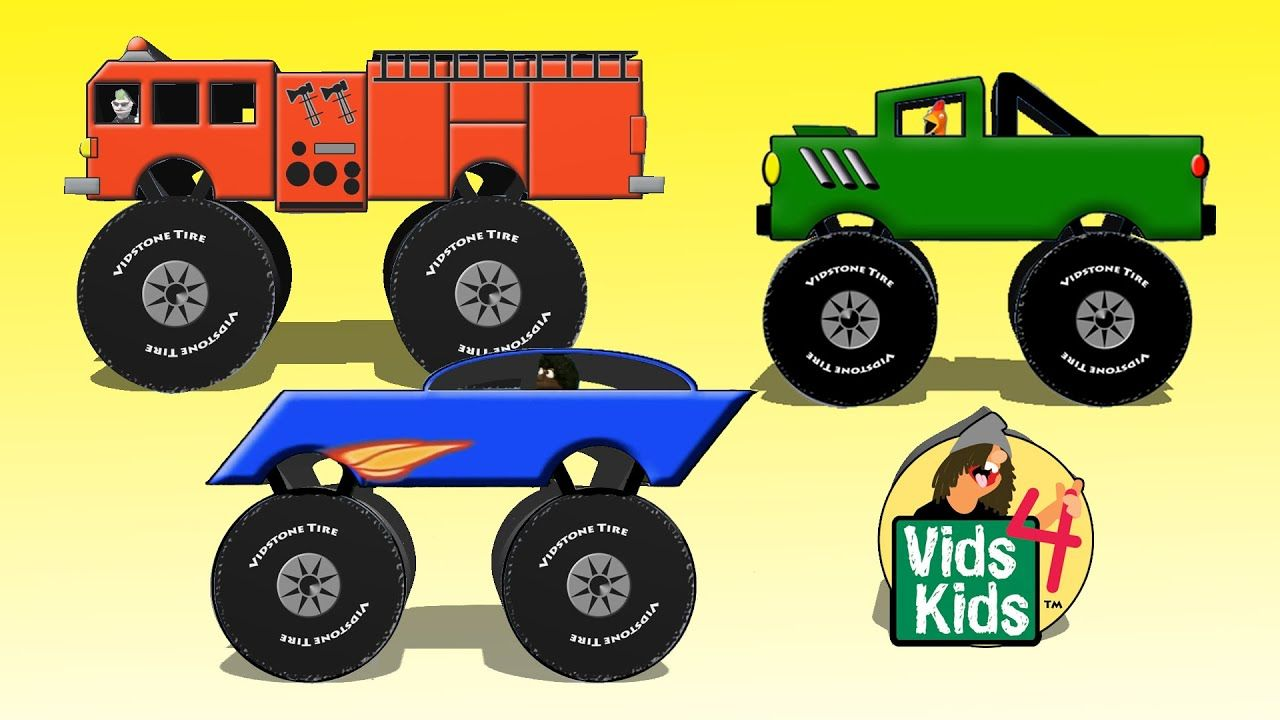 Draw a Monster Truck with Timmy Uppet in 2020 (With images ...