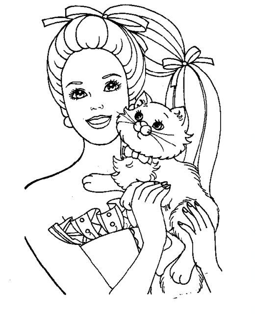 Pin by Emma Celeste on Coloring Pages | Pinterest | Colores, Barbie ...
