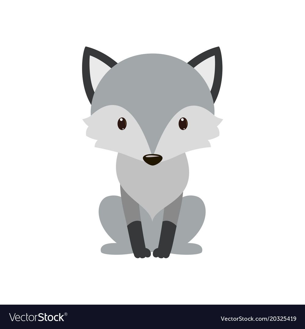 Gray Wolf Cartoon Wolf Grey The Nature Of The Character Vector Illustration Download A Free Preview Animal Illustration Kids Wolf Illustration Cartoon Wolf