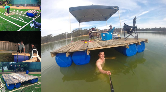 These Guys Built The Ultimate Party Pontoon For Summer Fun ...