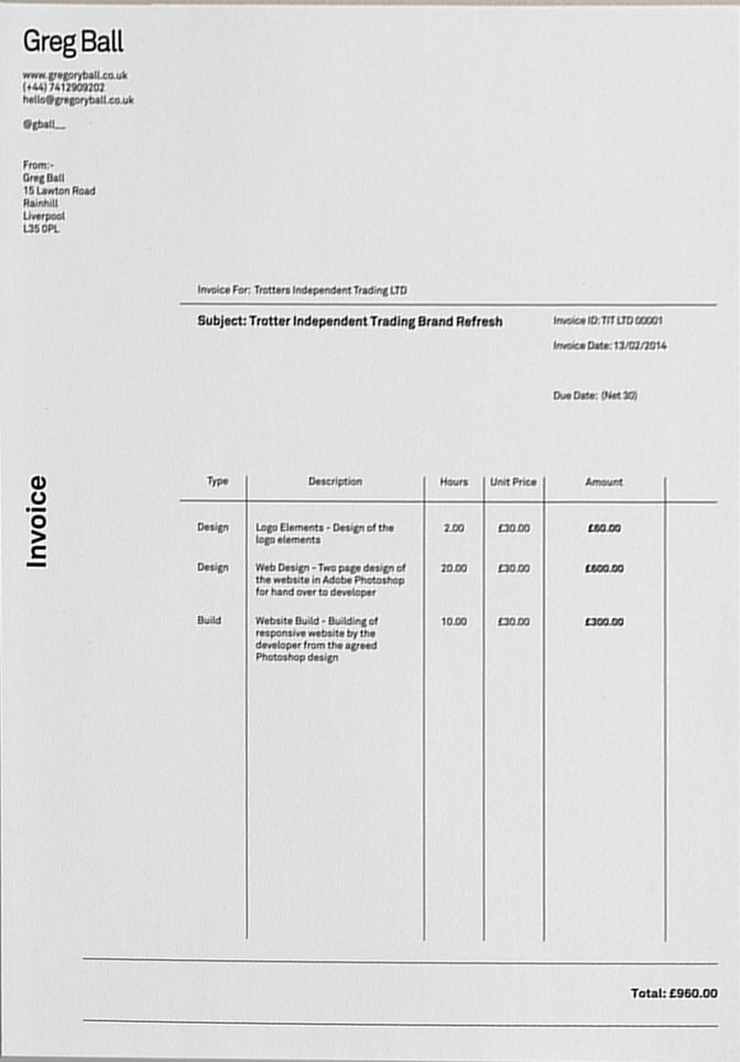 Nice Invoice Invoice Pinterest Nice Layouts And Editorial
