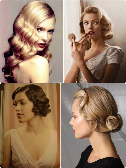 Inspiration Coiffures Vintage Happy Chantilly Coiffures Vintage Coiffures Vintage Facile Coiffure