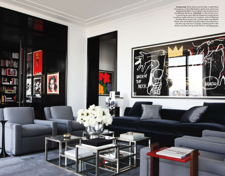 elle decor home office. the very masculine home office which we assume is used more by hana soukupovau0027s husband manhattan apartmentchicago apartmentelle decorfor elle decor l