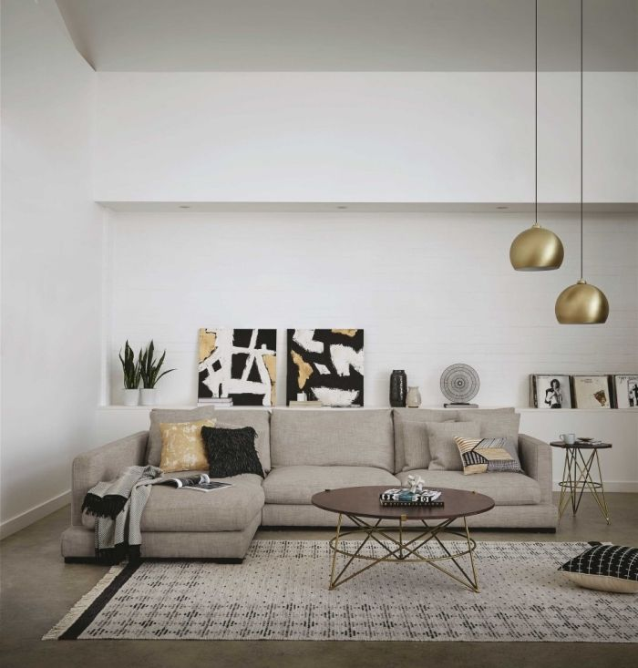 ▷ 1001 + règles d\'or et idées superbes pour décorer un salon ...