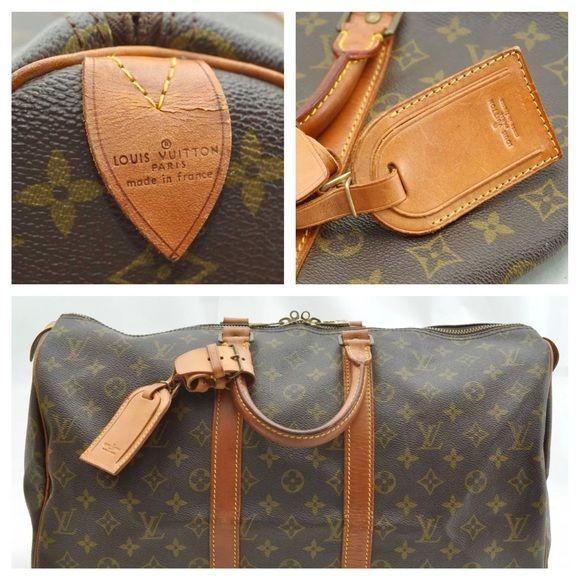 Authentic Louis Vuitton Lv Keepall 45 Duffle Bag Louis Vuitton Travel Bags Louis Vuitton Authentic Louis Vuitton