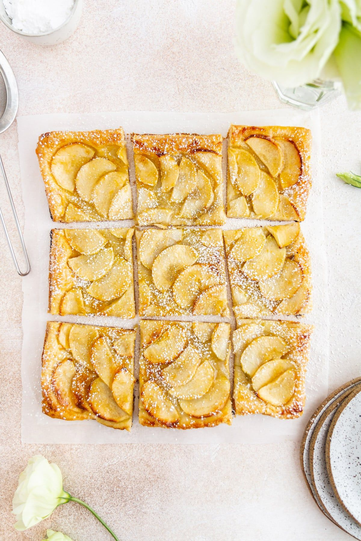 Easy French Apple Tart Recipe | Girl Versus Dough