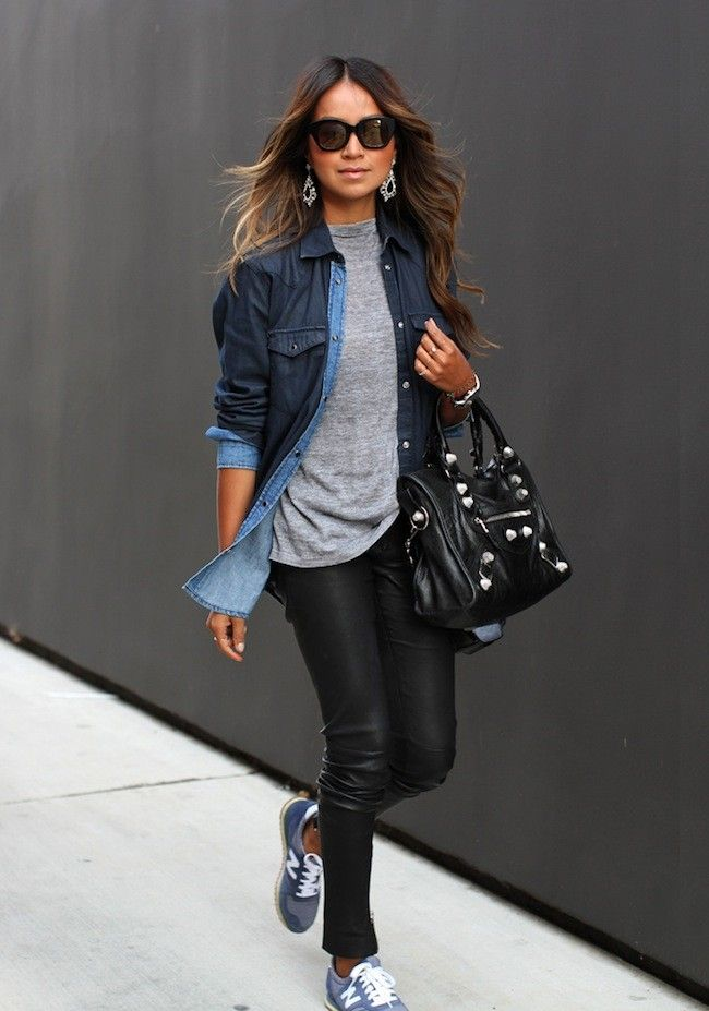 outfits con new balance mujer