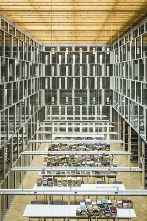 Katowice Scientific Information Centre and Academic Library by HS99 - libreria diseo