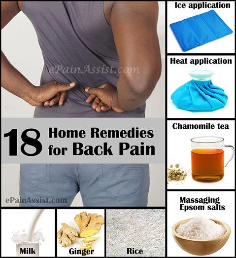 How To Get Relief From Back Pain Home Remedies