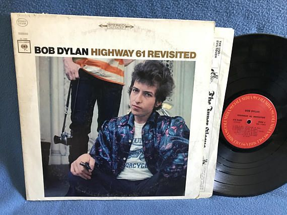 Rare Vintage Bob Dylan Highway 61 Revisited Bob Dylan Highway 61 Bob Dylan Vinyl Sales