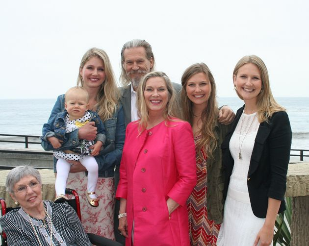Jeff Bridges family with his granddaughter Grace ...