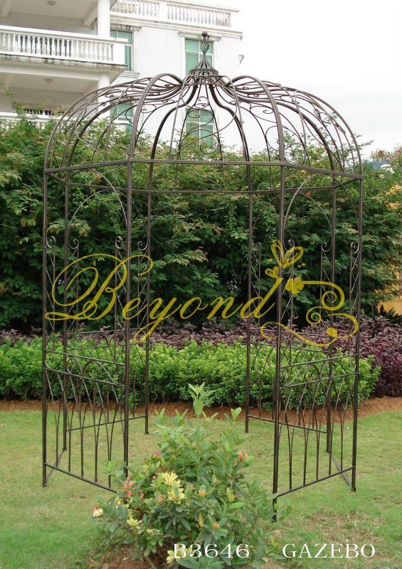 garden metal gazebo metal rose arch china mainland arches arbours pergolas bridge yard. Black Bedroom Furniture Sets. Home Design Ideas