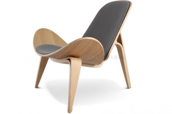 Hans Wegner Stoel : Hans j wegner ch shell stoel for the home chair furniture