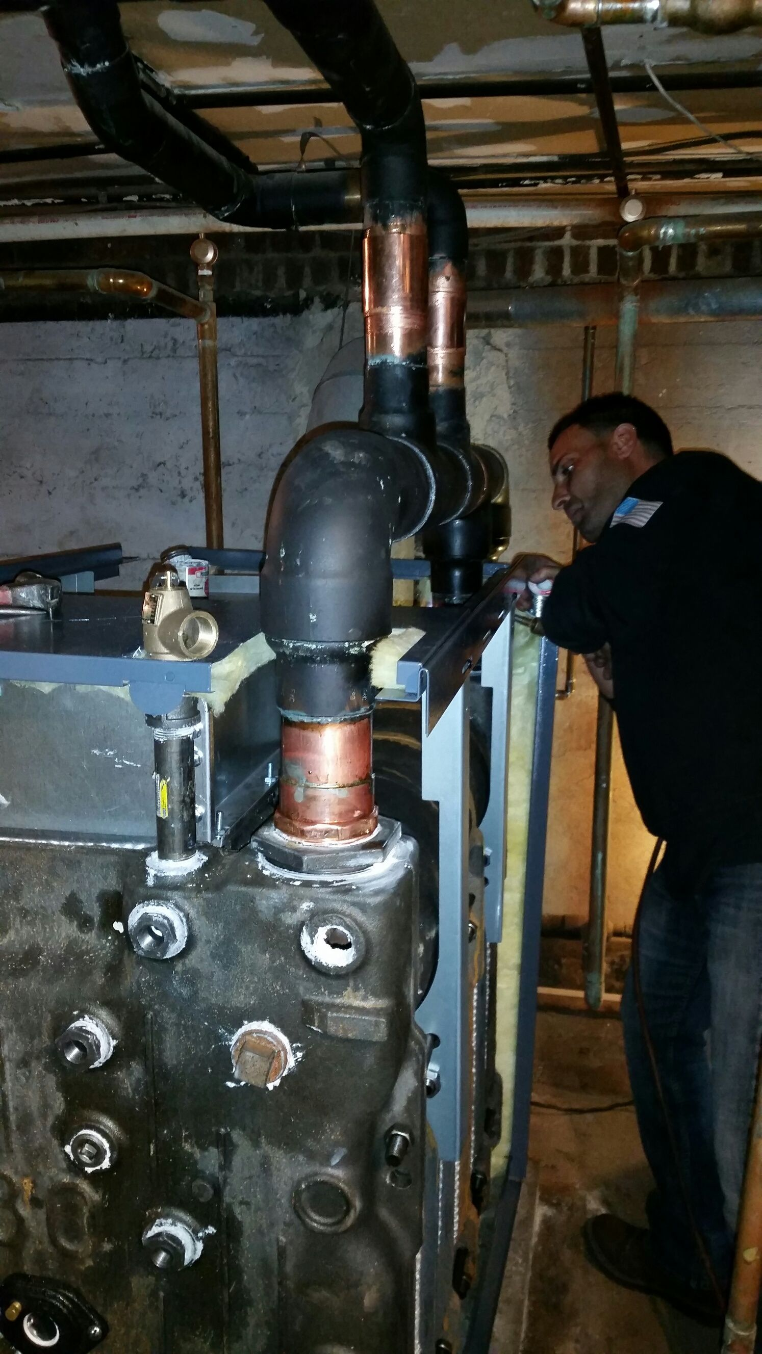 Most homes in our area are heated by forced hot air gas furnaces or ...