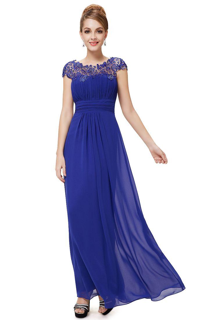 Blue maxi dresses