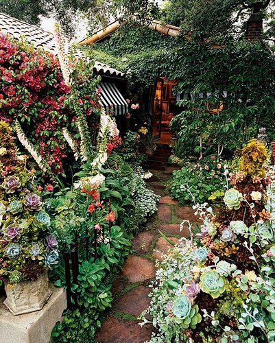 Cottage Garden Entrance