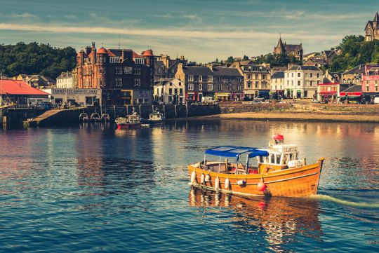 Oh my, Britain! - Oban, Isle of Mull, Scotland by Phil Songa.
