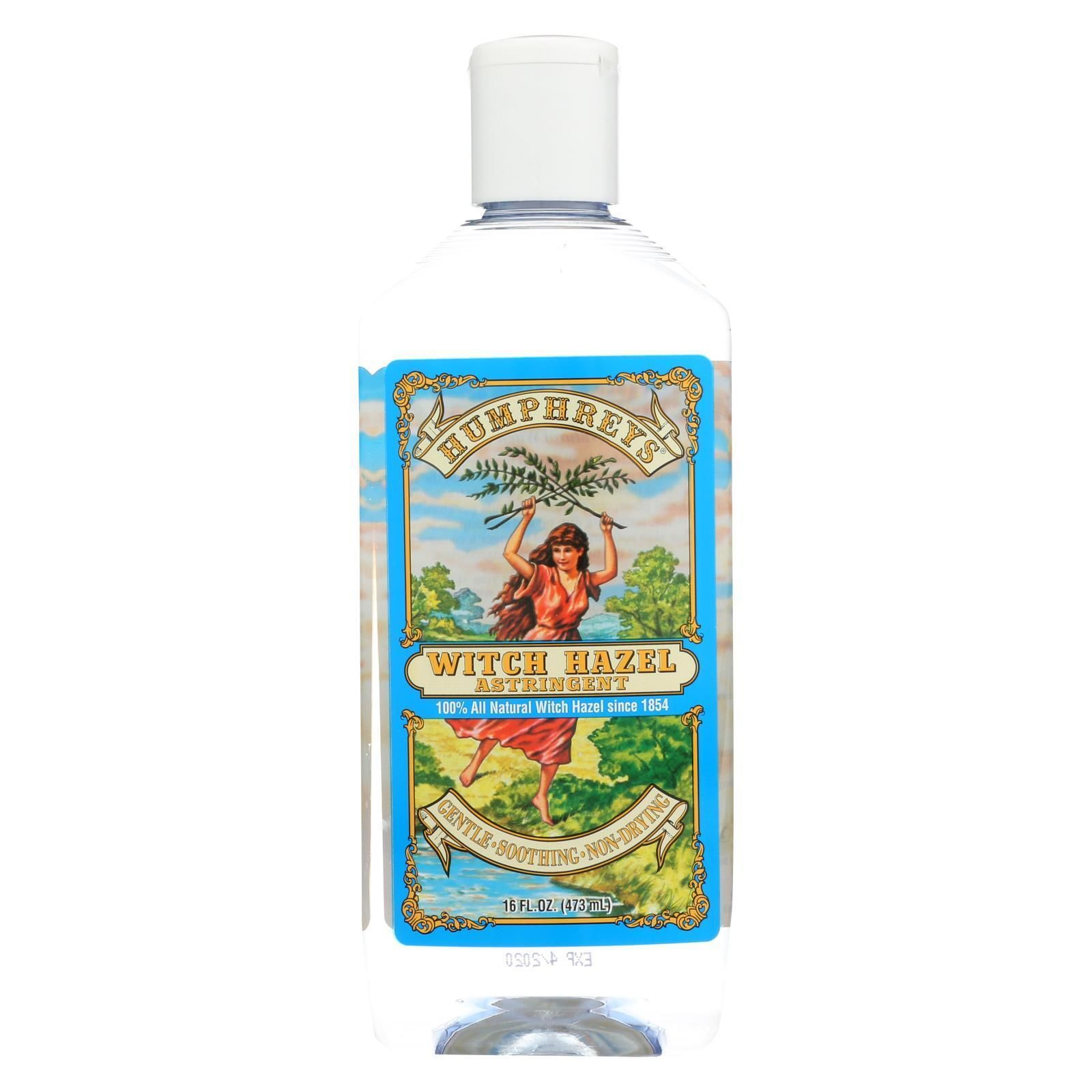 Humphrey's Homeopathic Remedy Witch Hazel Astringent 16