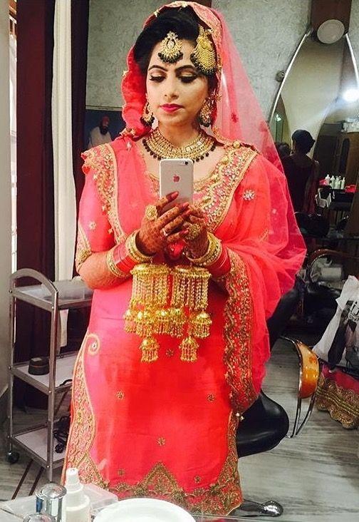 Pinterest: @pawank90 | punjabi Wedding | Pinterest | Punjabi bride ...