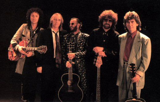 Mike Campbell, Tom Petty, Ringo Starr, Jeff Lynne, George Harrison ...