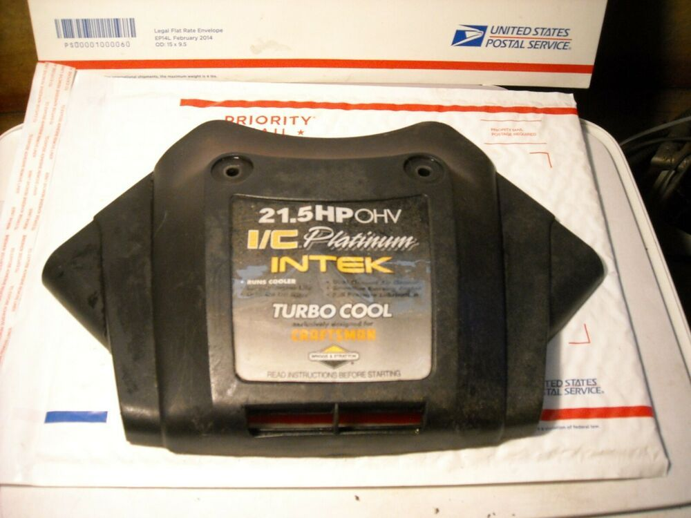 Briggs Stratton 21 5 Hp Air Filter Cover Oem Genuine Used V Twin Genuine Air Filter Cover Briggs Stratton About Me Blog