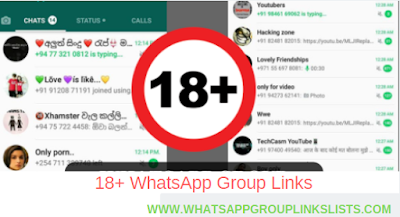 Pin On Join 18 Whatsapp Group Links List