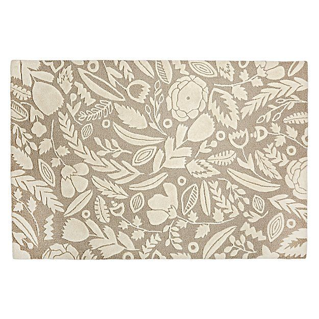 4 X 6 Forest Floor Grey Rug The Land Of Nod