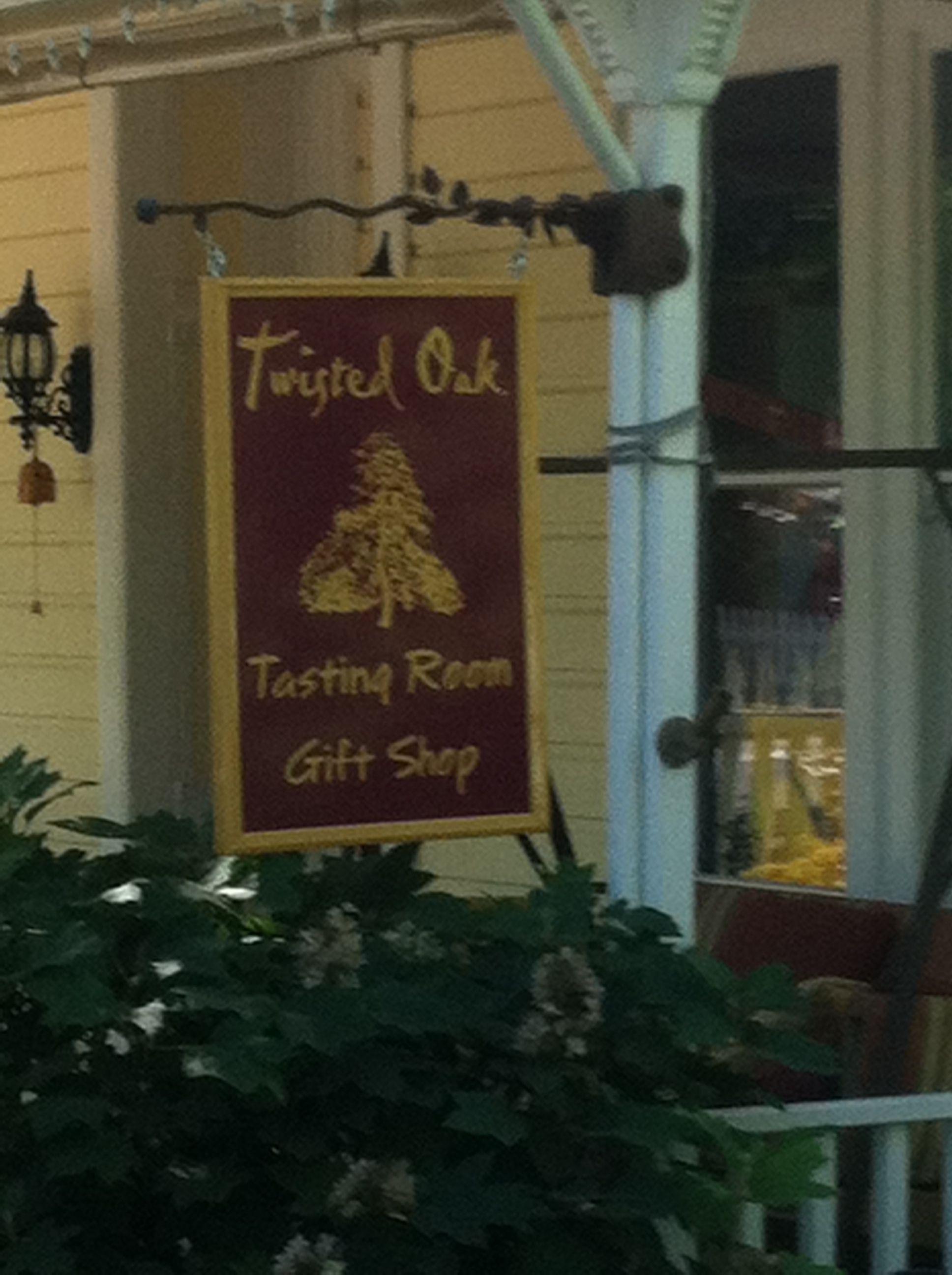 Twisted Oak Wine Tasting Room