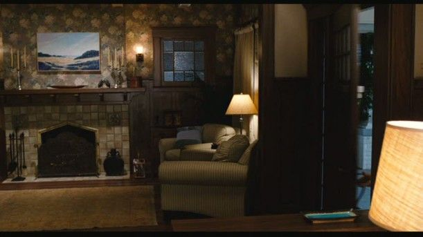 "The Blue Craftsman Bungalow in ""You, Me and Dupree"" 