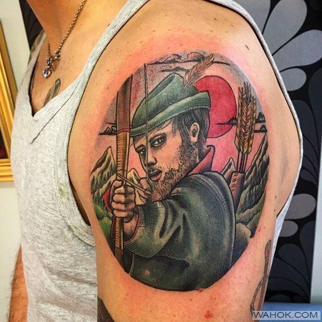 Galeri Gambar Tato Panah Robin Hood 3 Dimensi Paling Cantik Terbaik Dan Bagus Untuk Cewek Dan Cowok Cinta Seni Tato Badan Seperti Para Tato Gambar Tato 3d