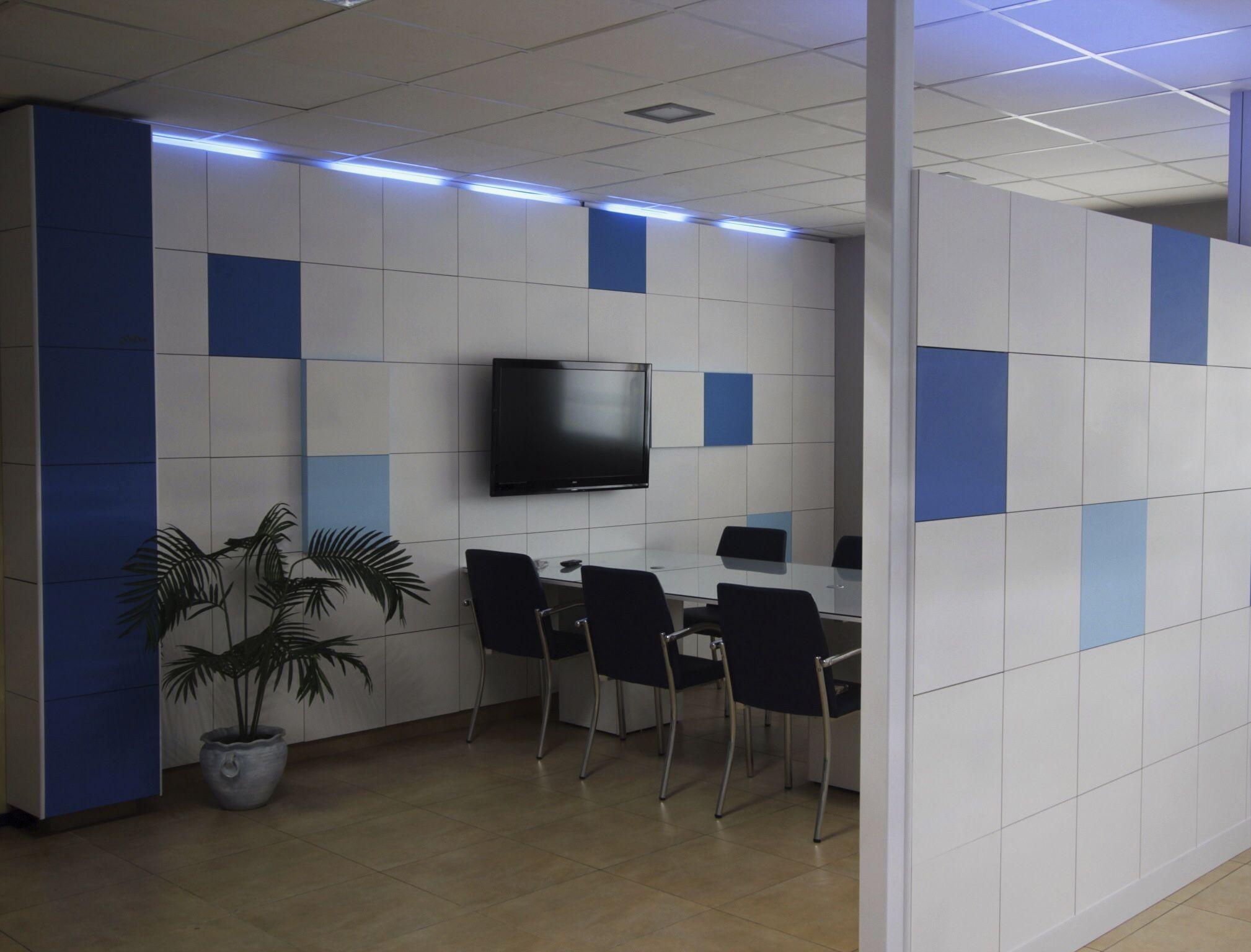 Pin de serastone en tabiques separadores de ambientes - Separadores oficina ...