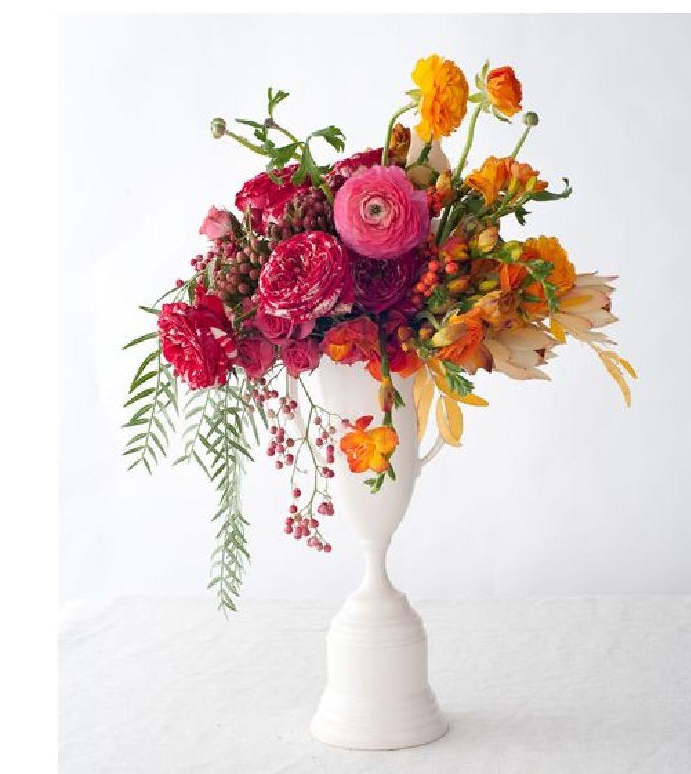"Beautiful Flower Arrangements For Weddings: Contemporary ""southern"" Arrangements"