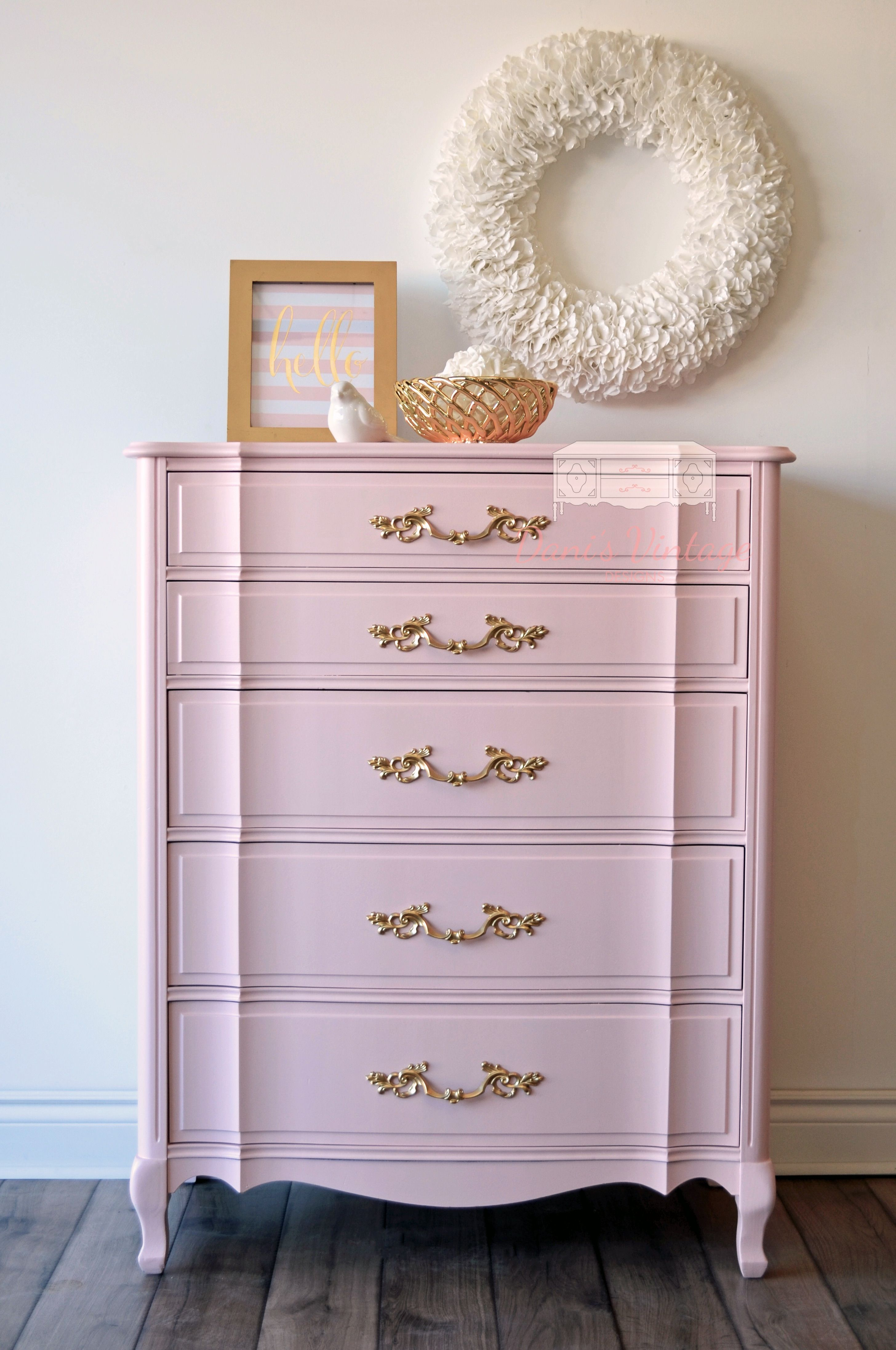 How Awesome And Y Is This Dresser Perfect In A Trendy Office To Tuck Files Pink Themed Nursery Little S Room Or Like Me