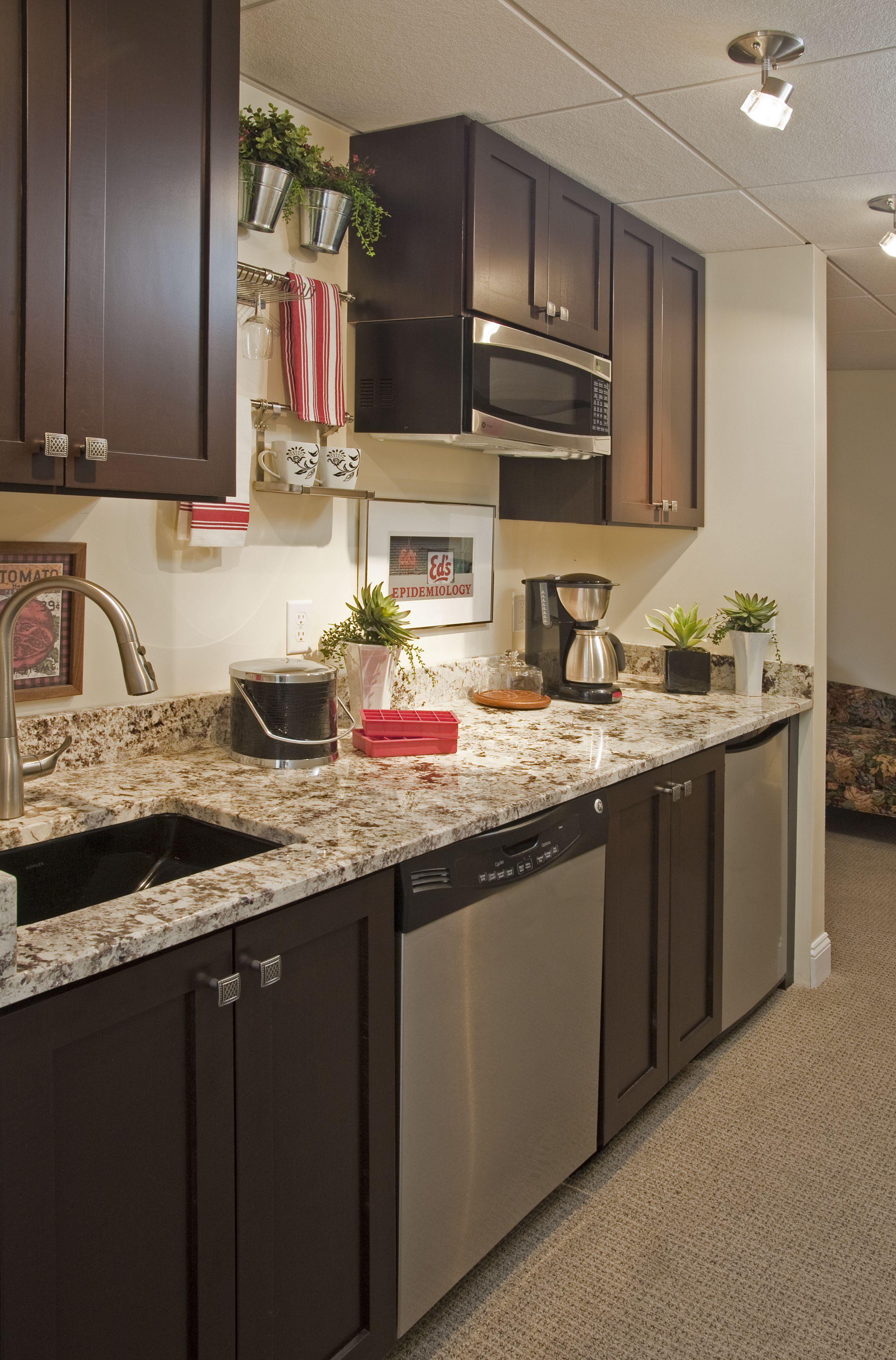 Lower Level Kitchen | Residential interior design